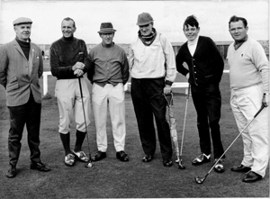 1968 Dunbar golf week with
